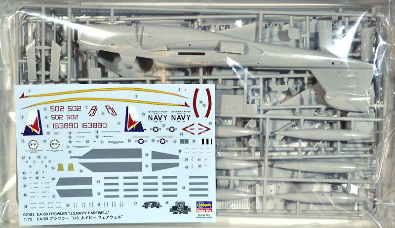 EA-6B プラウラー U.S.ネイビー フェアウェルプラモデル(ハセガワ1/72 飛行機 限定生産No.02183)商品画像_1