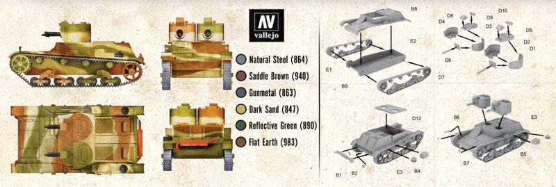 ポーランド 7TP 軽戦車 双砲塔機銃搭載型プラモデル(FTF1/72 AFVNo.PL1939-032)商品画像_1