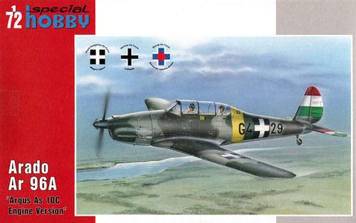 アラド Ar96A 高等練習機プラモデル(スペシャルホビー1/72 エアクラフト プラモデルNo.72325)商品画像