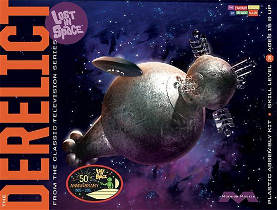 ディレリクト & ジュピター 2 (宇宙家族ロビンソン)プラモデル(メビウスメビウス プラスチックモデル組立キットNo.965)商品画像
