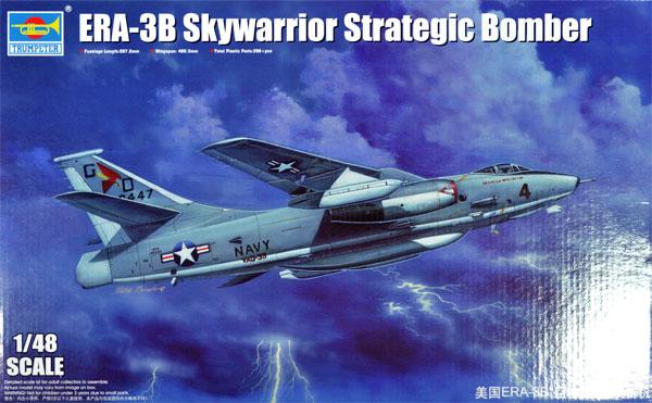 アメリカ海軍 ERA-3B スカイウォーリアプラモデル(トランペッター1/48 エアクラフト プラモデルNo.02873)商品画像