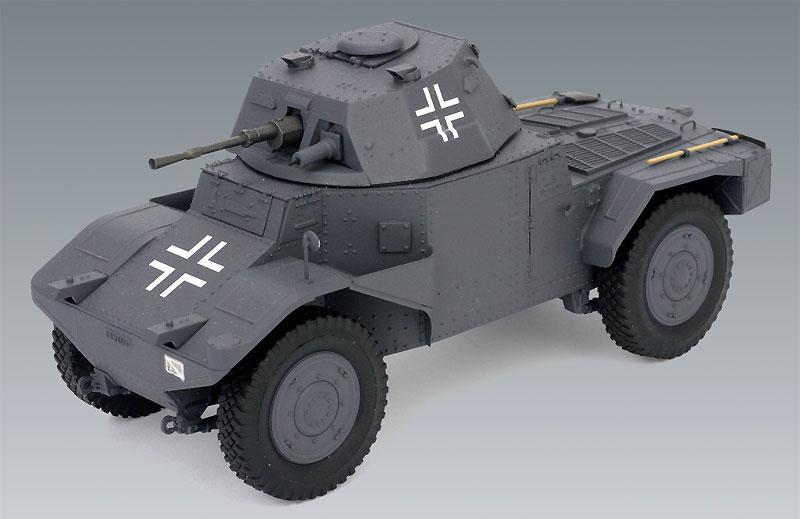 ドイツ P204(f) 装甲車プラモデル(ICM1/35 ミリタリービークル・フィギュアNo.35374)商品画像_2