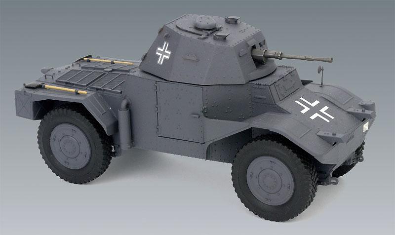 ドイツ P204(f) 装甲車プラモデル(ICM1/35 ミリタリービークル・フィギュアNo.35374)商品画像_3