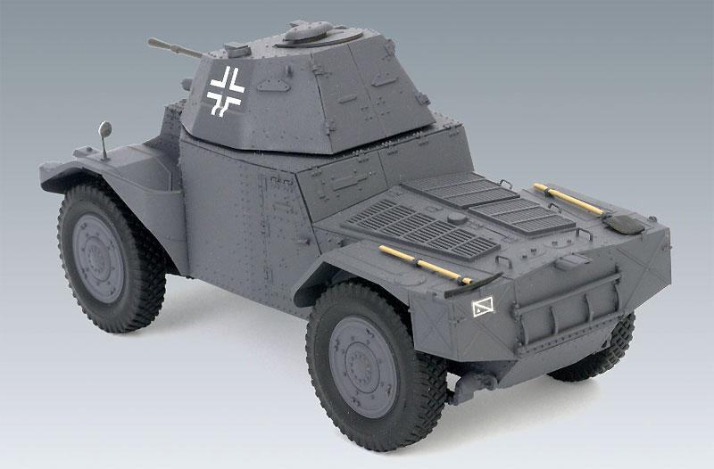 ドイツ P204(f) 装甲車プラモデル(ICM1/35 ミリタリービークル・フィギュアNo.35374)商品画像_4