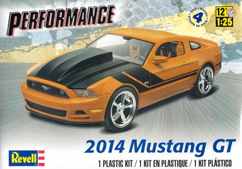 2014 マスタング GT (パフォーマンス)プラモデル(レベルカーモデルNo.85-4379)商品画像