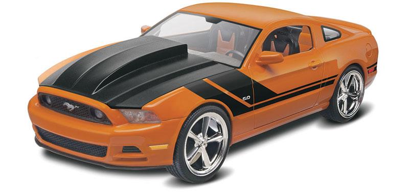 2014 マスタング GT (パフォーマンス)プラモデル(レベルカーモデルNo.85-4379)商品画像_1