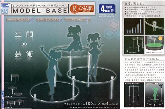 モデルベース R-18 ひな壇パック (超厚4mm板)ディスプレイ台(ホビーベースプレミアム パーツコレクション シリーズNo.PPC-K048)商品画像