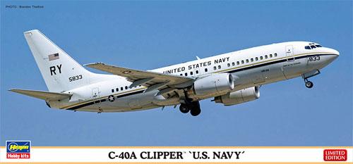 C-40A クリッパー U.S. ネイビープラモデル(ハセガワ1/200 飛行機 限定生産No.10816)商品画像