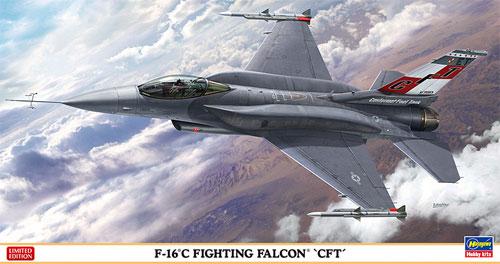 F-16C ファイティング ファルコン CFTプラモデル(ハセガワ1/48 飛行機 限定生産No.07429)商品画像