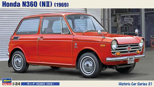 ホンダ N360 (N2) プラモデル(ハセガワ1/24 自動車 HCシリーズNo.HC021)商品画像
