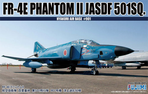 RF-4E ファントム 2 航空自衛隊 百里基地 第501飛行隊 901号機 洋上迷彩仕様プラモデル(フジミAIR CRAFT (シリーズF)No.F-002)商品画像