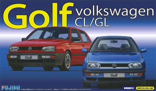 フォルクスワーゲン ゴルフ CL/GLプラモデル(フジミ1/24 リアルスポーツカー シリーズNo.027)商品画像