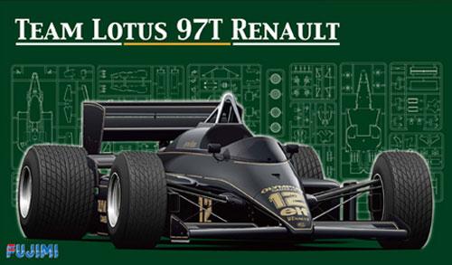 ロータス 97T ルノー ポルトガル/ベルギー (グランプリ選択式)プラモデル(フジミ1/20 GPシリーズNo.GP003)商品画像