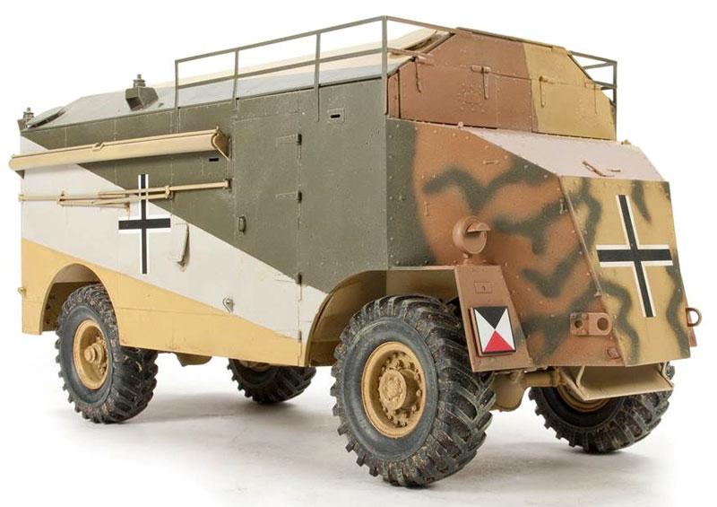 AEC 装甲指揮車 ロンメル・マムートプラモデル(AFV CLUB1/35 AFV シリーズNo.AF35235)商品画像_2