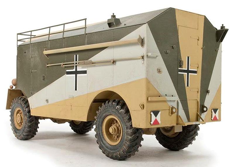 AEC 装甲指揮車 ロンメル・マムートプラモデル(AFV CLUB1/35 AFV シリーズNo.AF35235)商品画像_3