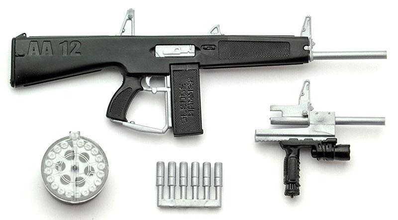 AA-12タイププラモデル(トミーテックリトルアーモリー (little armory)No.LA018)商品画像_1