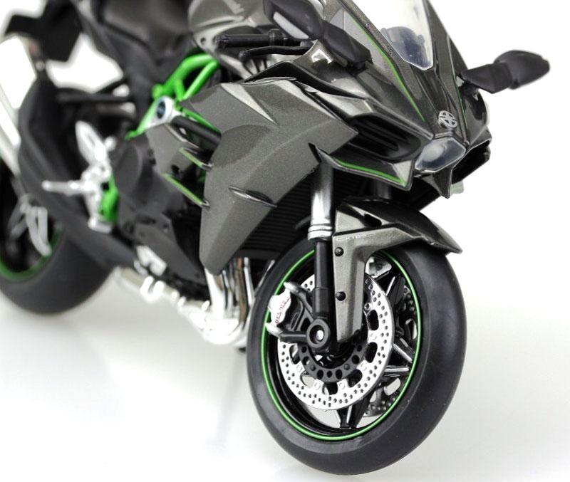 カワサキ Ninja H2完成品(アオシマ1/12 完成品バイクシリーズNo.104569)商品画像_3