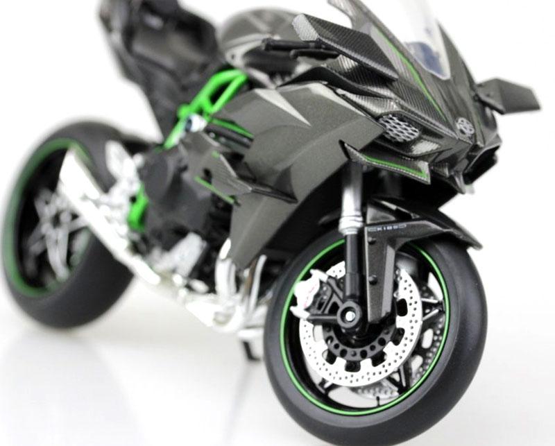カワサキ Ninja H2R完成品(アオシマ1/12 完成品バイクシリーズNo.104576)商品画像_3