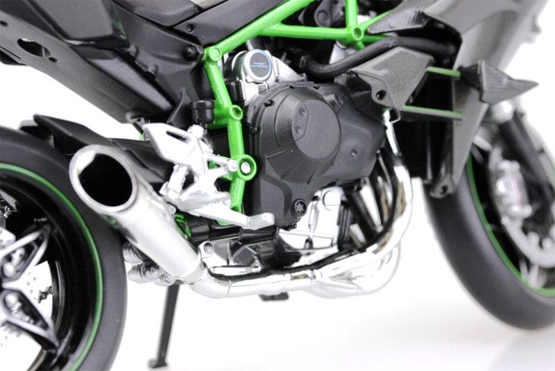 カワサキ Ninja H2R完成品(アオシマ1/12 完成品バイクシリーズNo.104576)商品画像_4
