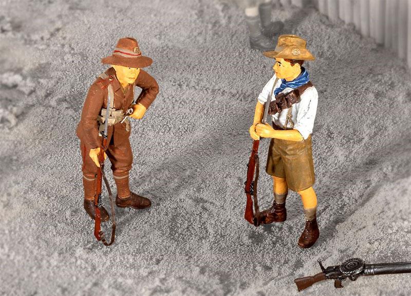 アンザック歩兵 (1915)プラモデル(レベル1/35 ミリタリーNo.02618)商品画像_1