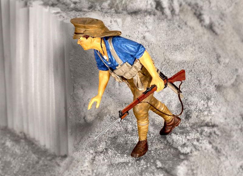 アンザック歩兵 (1915)プラモデル(レベル1/35 ミリタリーNo.02618)商品画像_3