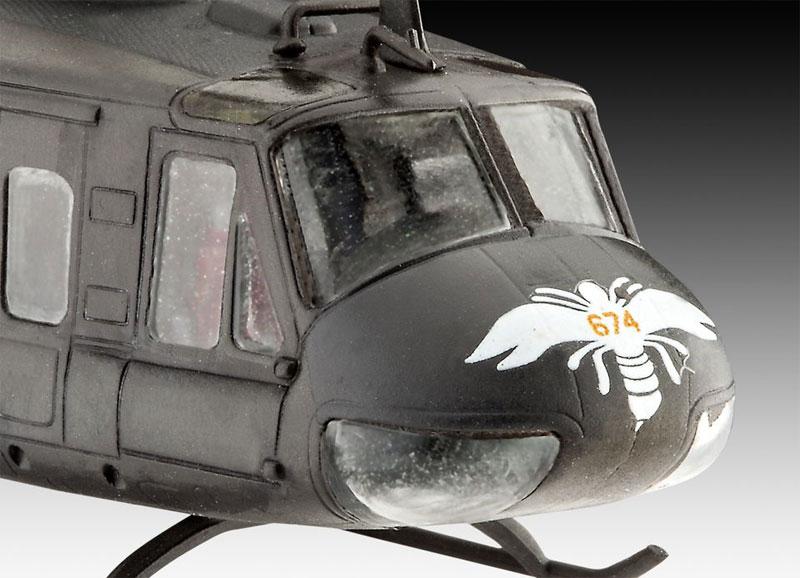 ベル UH-1H ガンシッププラモデル(レベル飛行機モデルNo.04983)商品画像_1
