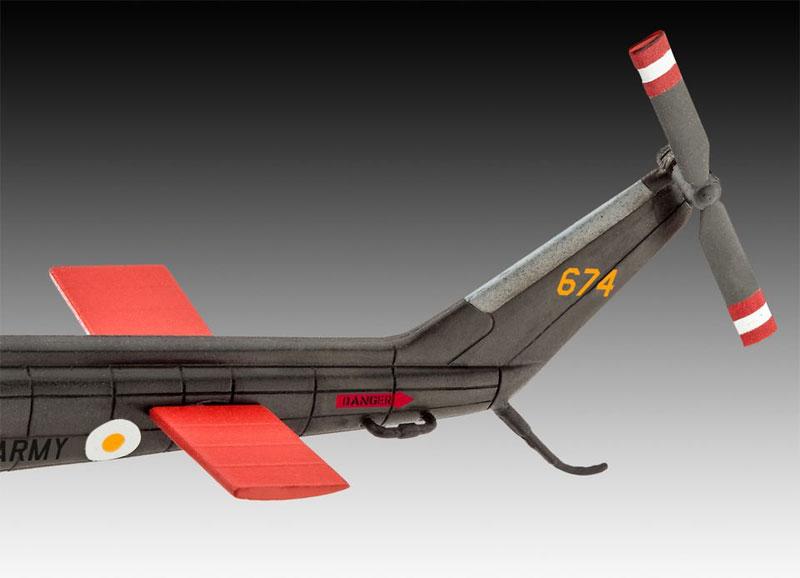 ベル UH-1H ガンシッププラモデル(レベル飛行機モデルNo.04983)商品画像_3