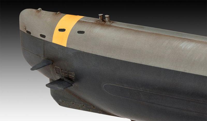 ドイツ潜水艦 Type23プラモデル(レベル1/144 艦船モデルNo.05140)商品画像_3