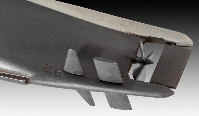 ドイツ潜水艦 Type23プラモデル(レベル1/144 艦船モデルNo.05140)商品画像_4