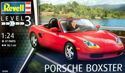 ポルシェ ボクスタープラモデル(レベルカーモデルNo.07690)商品画像