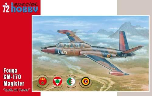 フーガ CM-170 マジステール Exotic Air Forceプラモデル(スペシャルホビー1/72 エアクラフト プラモデルNo.SH72284)商品画像