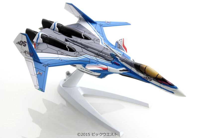 VF-31J ジークフリード ファイターモード (ハヤテ・インメルマン機)プラモデル(バンダイメカコレクション マクロスNo.001)商品画像_1