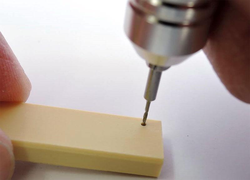 精密ドリル小径セット (0.5mm・0.8mm・1.0mm)ビット(ファンテックロータリーツール用ビットNo.SD-S)商品画像_3