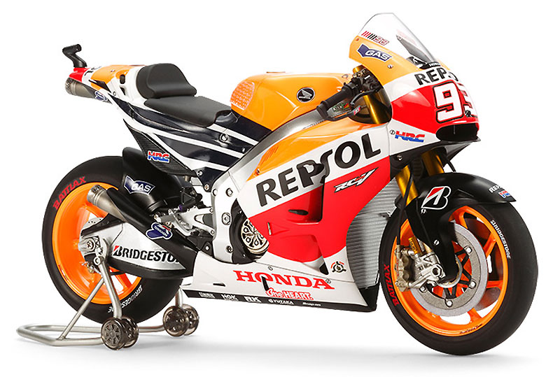 レプソル ホンダ RC213V '14プラモデル(タミヤ1/12 オートバイシリーズNo.130)商品画像_3