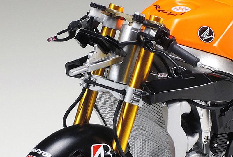 ホンダ RC213V '14 フロントフォークセットメタル(タミヤディテールアップパーツシリーズ (オートバイモデル用)No.12667)商品画像_2
