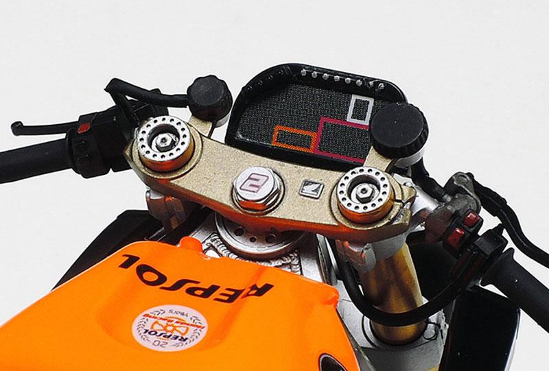 ホンダ RC213V '14 フロントフォークセットメタル(タミヤディテールアップパーツシリーズ (オートバイモデル用)No.12667)商品画像_4