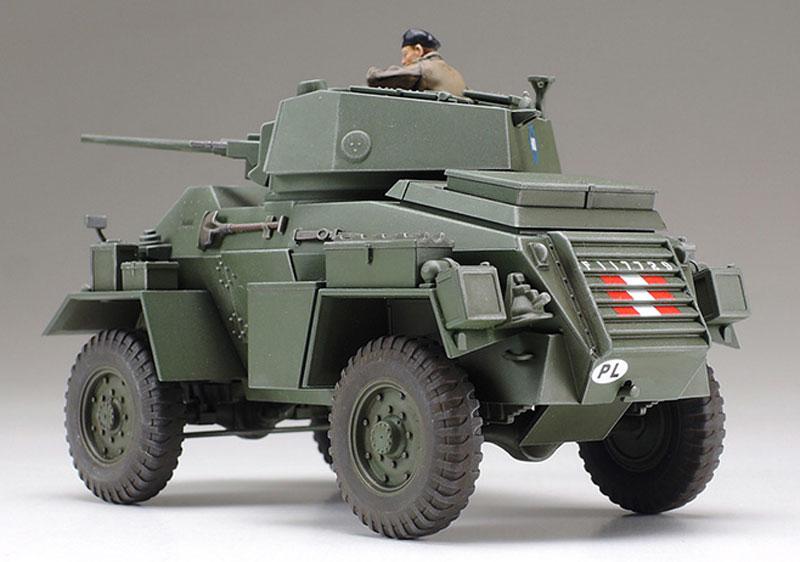 イギリス 7トン 4輪装甲車 Mk.4プラモデル(タミヤ1/48 ミリタリーミニチュアシリーズNo.087)商品画像_3
