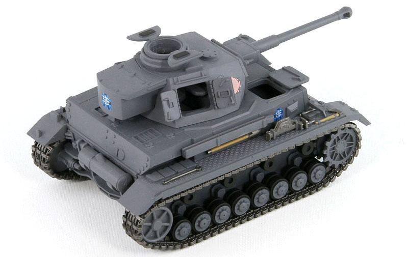 4号戦車 D型改 (F2型仕様) エンディングVer.プラモデル(ピットロードガールズ&パンツァーNo.PD047)商品画像_2