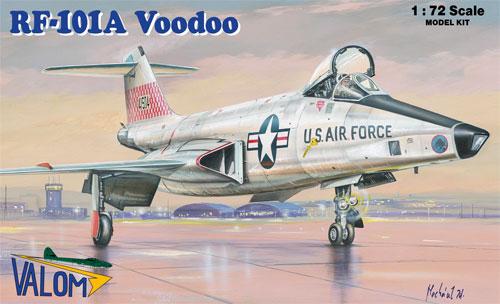 RF-101A ヴードゥー 戦術偵察機プラモデル(バロムモデル1/72 エアクラフト プラモデルNo.72092)商品画像
