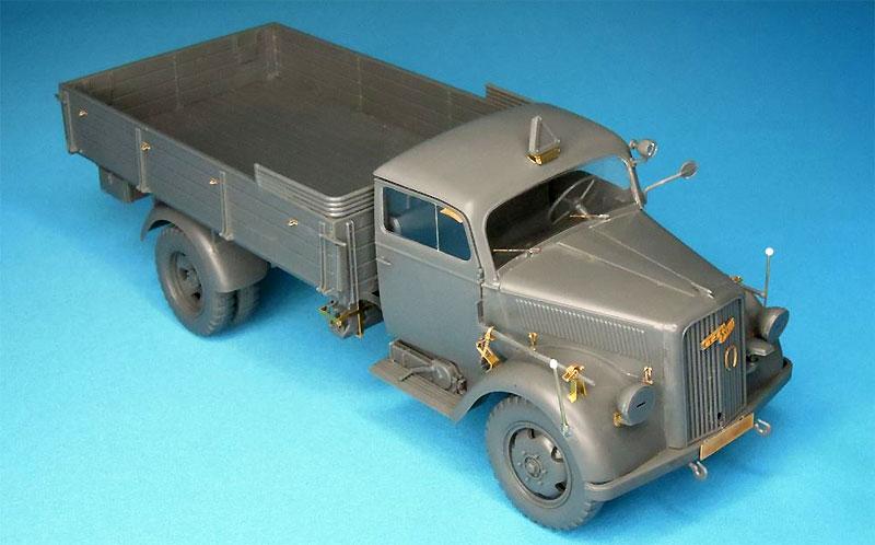 3トン カーゴトラック用 エッチングセットエッチング(パッションモデルズ1/35 シリーズNo.P35-119)商品画像_2