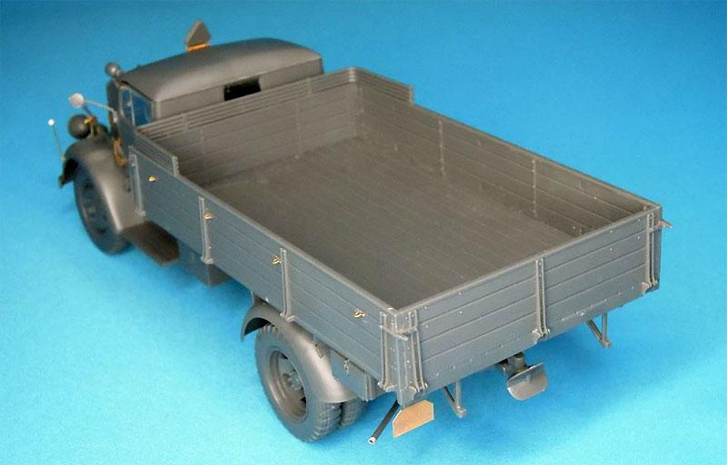 3トン カーゴトラック用 エッチングセットエッチング(パッションモデルズ1/35 シリーズNo.P35-119)商品画像_3