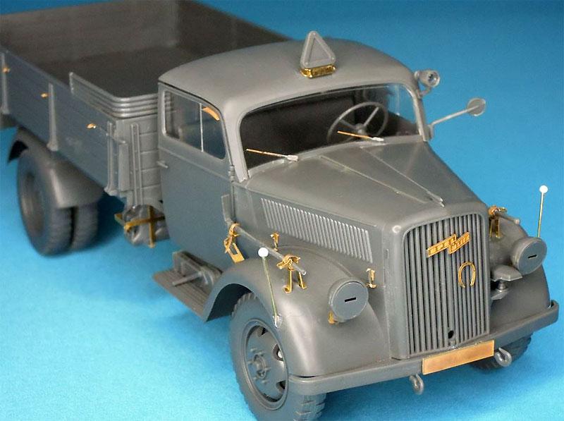 3トン カーゴトラック用 エッチングセットエッチング(パッションモデルズ1/35 シリーズNo.P35-119)商品画像_4
