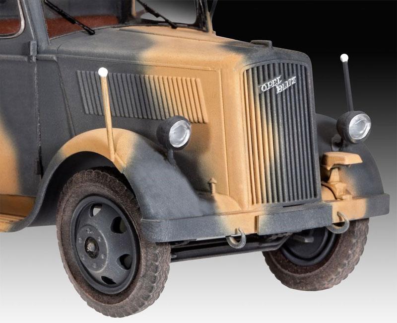 オペル TYPE 2.5-32型 トラックプラモデル(レベル1/35 ミリタリーNo.03250)商品画像_1