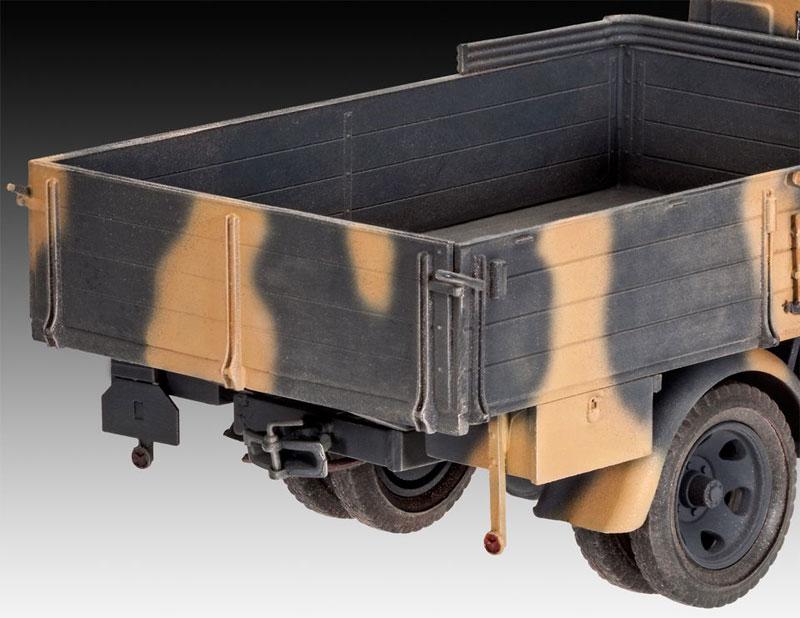 オペル TYPE 2.5-32型 トラックプラモデル(レベル1/35 ミリタリーNo.03250)商品画像_3