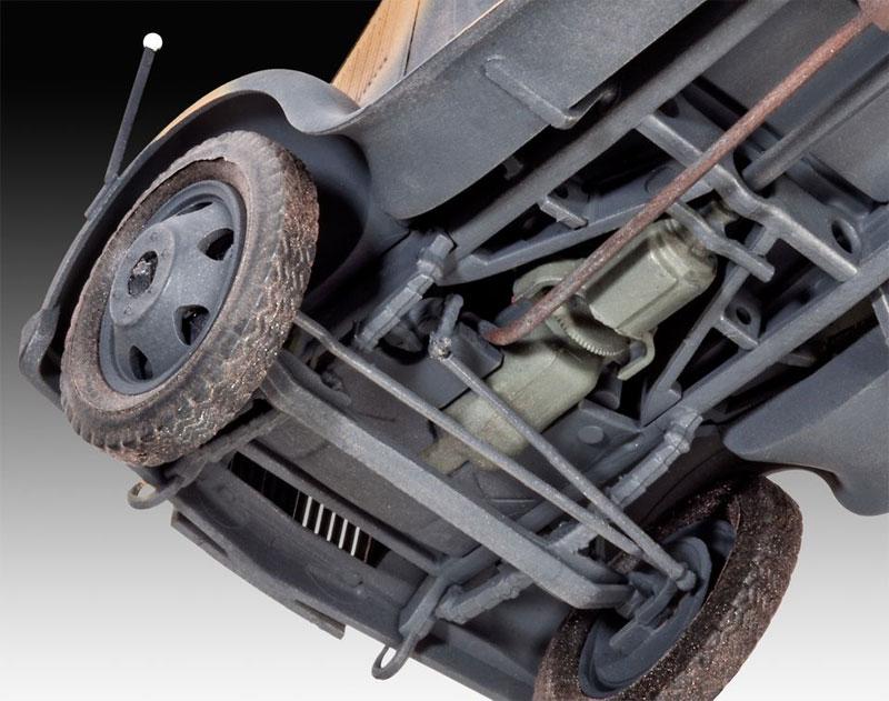 オペル TYPE 2.5-32型 トラックプラモデル(レベル1/35 ミリタリーNo.03250)商品画像_4