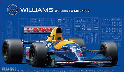 ウイリアムズ・ルノー FW14B イギリス/モナコ/ハンガリー (グランプリ選択式)プラモデル(フジミ1/20 GPシリーズNo.GP005)商品画像