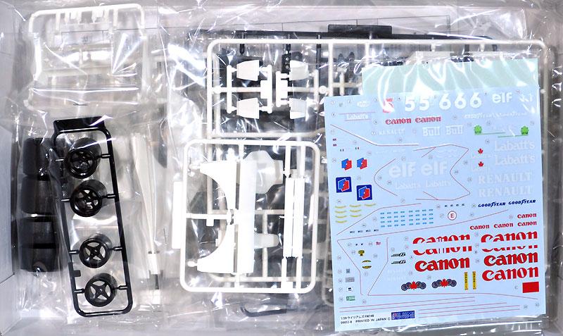 ウイリアムズ・ルノー FW14B イギリス/モナコ/ハンガリー (グランプリ選択式)プラモデル(フジミ1/20 GPシリーズNo.GP005)商品画像_1