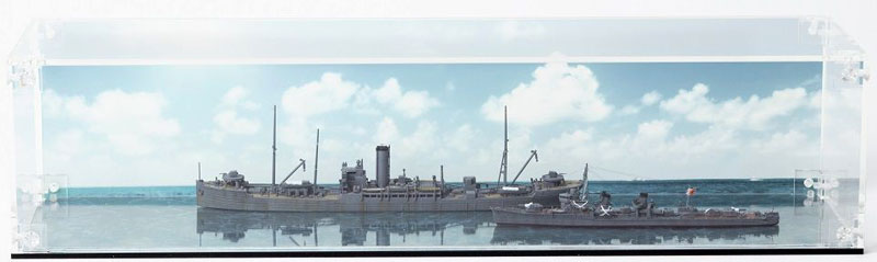 組み立て式 アクリルケース (1/700スケール 大型艦船用)ケース(GSIクレオスVANCE ディスプレイグッズNo.SC101)商品画像_2