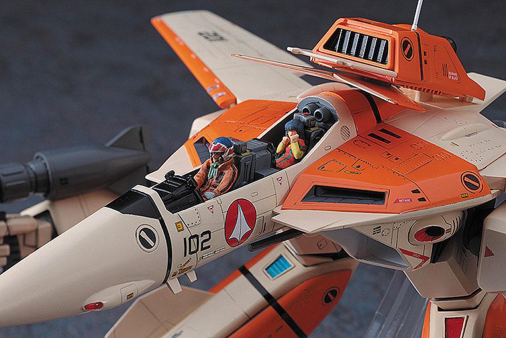 VF-1D ガウォーク バルキリープラモデル(ハセガワ1/72 マクロスシリーズNo.65832)商品画像_3