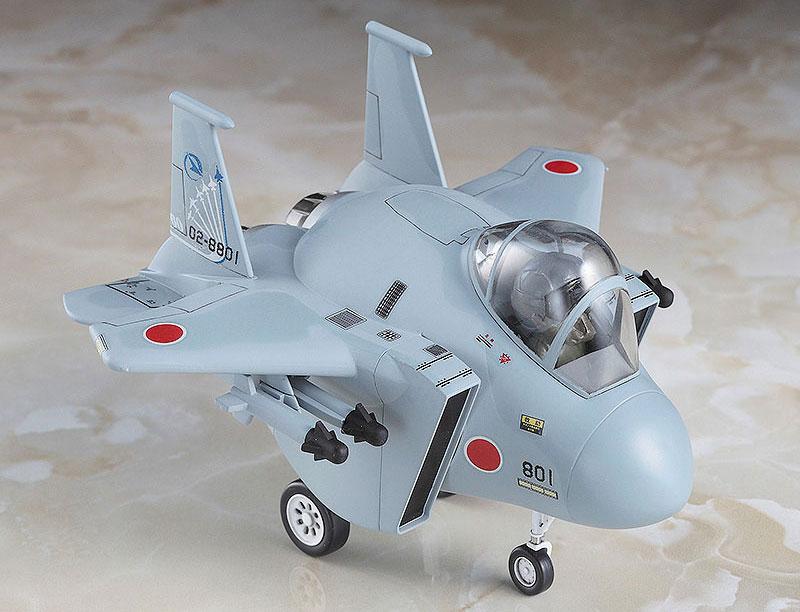 F-4 & F-15 飛行開発実験団 60周年記念 (2機セット)プラモデル(ハセガワたまごひこーき シリーズNo.60512)商品画像_3